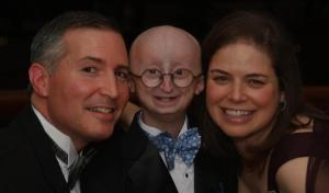 Drs. Scott and Leslie Berns with their son, Sam
